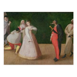 The Commedia dell'Arte Company Postcards