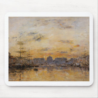 The Commerce Basin, Le Havre by Eugene Boudin Mouse Pad