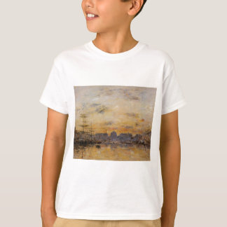The Commerce Basin, Le Havre by Eugene Boudin T-Shirt