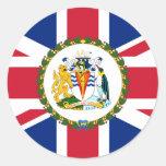 The Commissioner Of The British Antarctic Territor Sticker