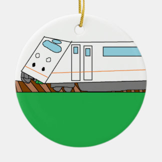 The commodity is customized Double-Sided ceramic round christmas ornament
