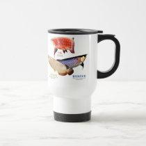 The commodity is customized travel mug