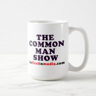 The Common Man Show - Coffee Mug