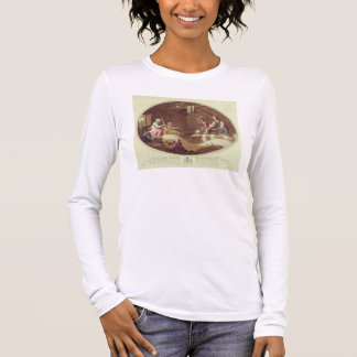 The Common Method of Beetling, Scutching and Hackl Long Sleeve T-Shirt