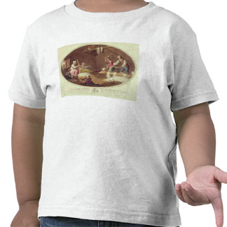 The Common Method of Beetling, Scutching and Hackl Tshirt