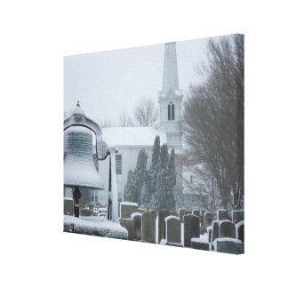 The Commons, Little Compton, RI Canvas Print