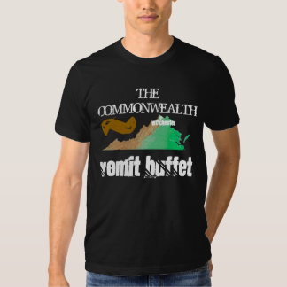 THE COMMONWEALTH ~ Vomit Buffet T-shirt
