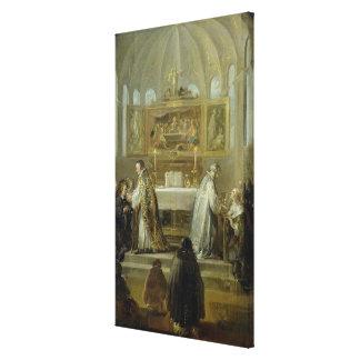 The Communion, 1649-51 Canvas Print