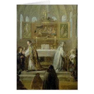 The Communion, 1649-51 Card