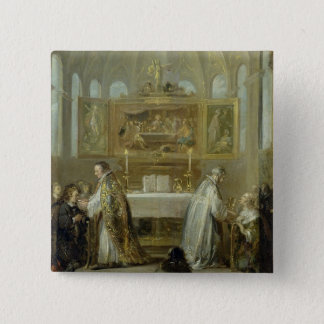 The Communion, 1649-51 Pinback Button