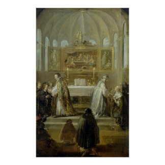 The Communion, 1649-51 Poster