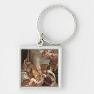 The Communion of St. Bonaventure Keychain