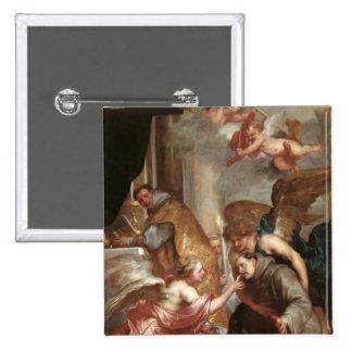 The Communion of St. Bonaventure Pinback Button