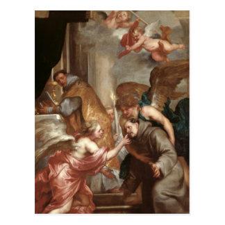 The Communion of St. Bonaventure Postcard