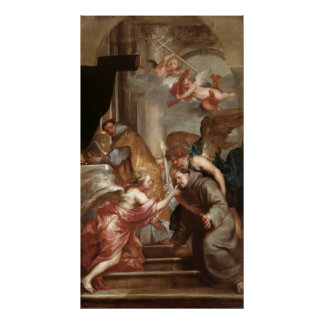 The Communion of St. Bonaventure Posters