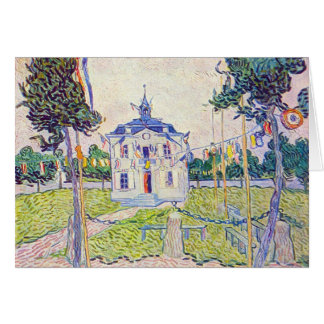 The community house in Auvers by Vincent van Gogh Card