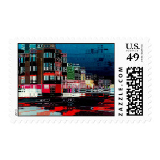The Commute Postage Stamps