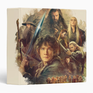 The Company and Elves of Mirkwood 3 Ring Binder