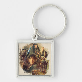 The Company and Elves of Mirkwood Keychain