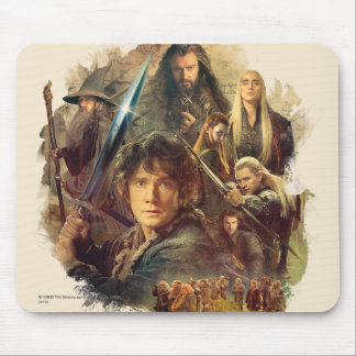 The Company and Elves of Mirkwood Mouse Pads