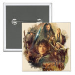 The Company and Elves of Mirkwood Pinback Buttons