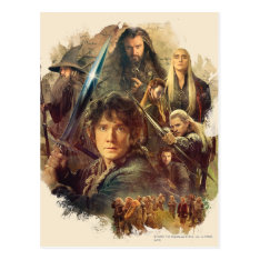 The Company And Elves Of Mirkwood Postcard at Zazzle