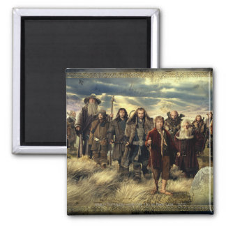 The Company Framed 2 Inch Square Magnet