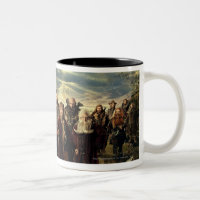 The Company Framed Two-Tone Coffee Mug