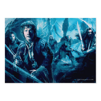 The Company In Mirkwood Card