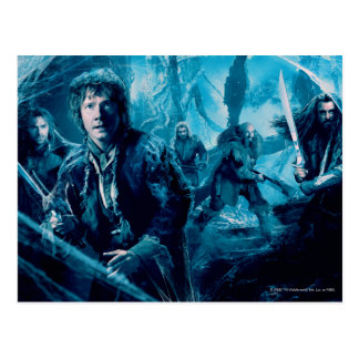 The Company In Mirkwood Postcards