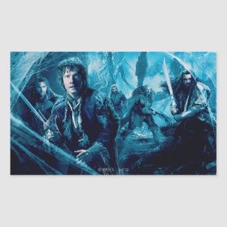 The Company In Mirkwood Rectangular Sticker