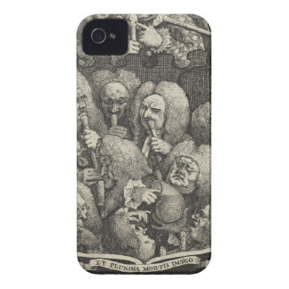 The Company of Undertakers by William Hogarth iPhone 4 Cover