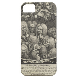 The Company of Undertakers by William Hogarth iPhone SE/5/5s Case