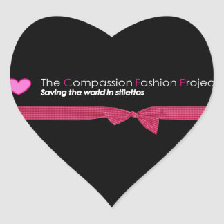 The Compassion Fashion Project Stickers