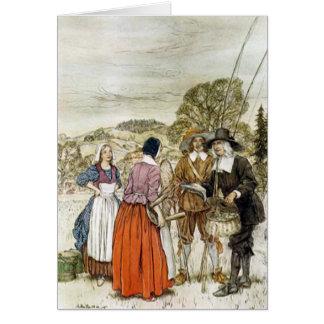 The Compleat Angler, Arthur Rackham Illustration Card