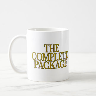 The Complete Package Classic White Coffee Mug