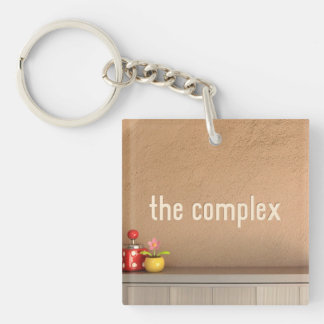 The Complex Keychain Acrylic Key Chains