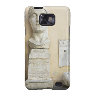 The components of a giant statue of Emperor Galaxy S2 Cases