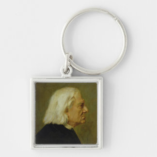 The Composer Franz Liszt , 1884 Keychain