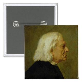 The Composer Franz Liszt , 1884 Pinback Button