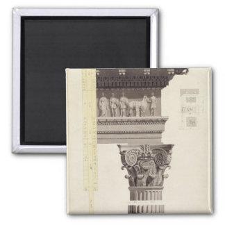 The Composite Order (w/c, wash, pen and black ink Magnet