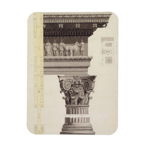 The Composite Order (w/c, wash, pen and black ink Rectangular Photo Magnet