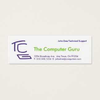 The Computer Guru Mini Business Card