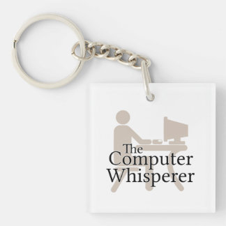 The Computer Whisperer Keychain