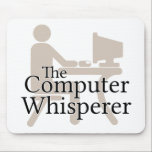 "The Computer Whisperer Mouse Pad<br><div class=""desc""></div>"