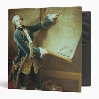 The Comte de Vaudreuil, 1758 3 Ring Binder