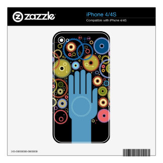 The concept of motion iPhone 4S skins