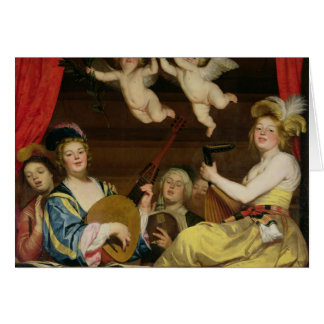 The Concert, 1624 Card