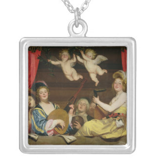 The Concert, 1624 Silver Plated Necklace
