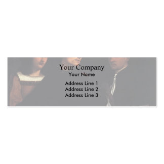 The Concert  by Nicolas Tournier Business Card Templates